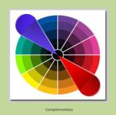 Some Of The Most Stimulating Color Schemes Are Those That Built Upon Use Complementary