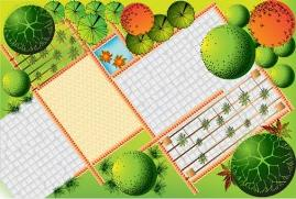 diagonal garden plans caan provide interest