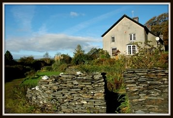 English Cottage on a hill