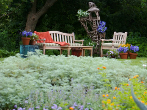Restful Modern Country Garden