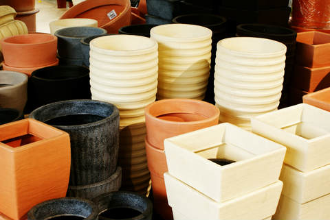 Assorted Garden Containers