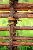 Garden Crafts Twig Fence