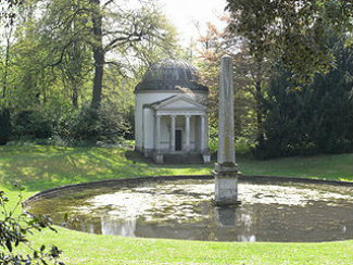 Ionic Temple at Chiswick House Formal Gardens