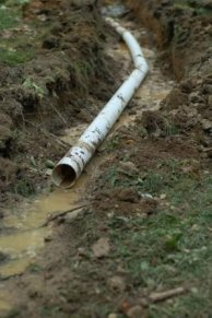 example of a french drain