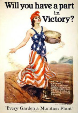 Victory Gardens WWII Poster